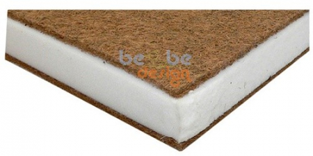 Saltea sandwich cocos burete cocos 140x70x10 cm0