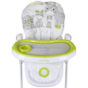 Scaun de masa Sun Baby 004 Comfort Lux - Green3
