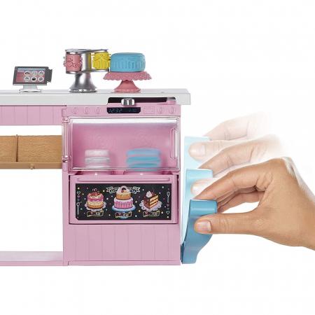 Set Barbie by Mattel I can be Papusa cu cofetarie GFP59 [3]