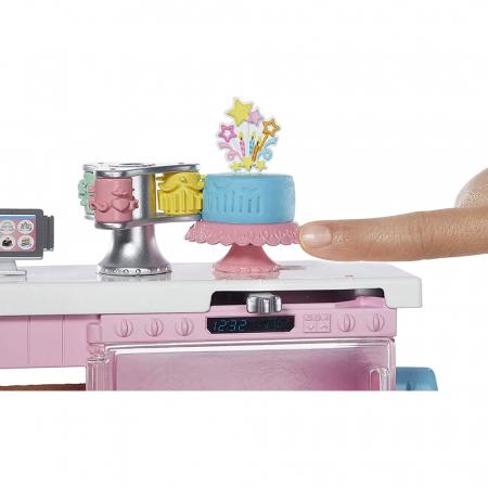 Set Barbie by Mattel I can be Papusa cu cofetarie GFP59 [1]