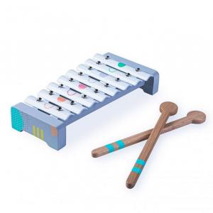 Set cu instrumente muzicale din lemn Ecotoys 3630 [5]