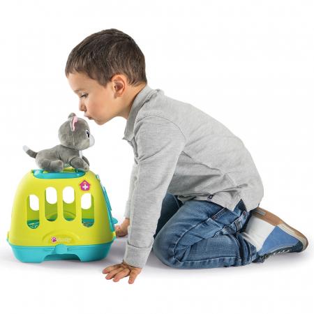 Set Smoby Veterinary Case pisica cu cusca de transport si accesorii [8]