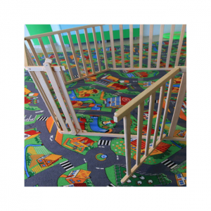 Tarc copii pliabil din lemn - Mesterel2