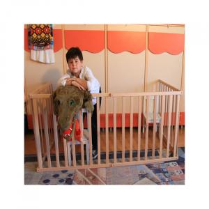 Tarc copii pliabil din lemn - Mesterel7