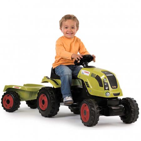 Tractor cu pedale si remorca Smoby Claas Farmer XL [5]