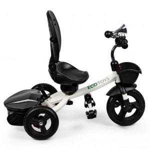 Tricicleta cu sezut reversibil Ecotoys JM-311 - Gri6