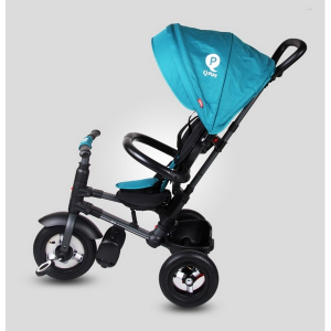Tricicleta pliabila cu roti gonflabile Sun Baby 014 Qplay Rito6