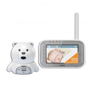 Videointerfon digital bidirectional 4,3 inch BM4200, include melodii si termometru - Vtech [4]