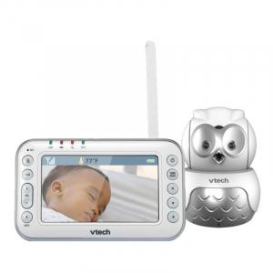 Videointerfon digital bidirectional Vtech 4.3 inch BM4600 Bufnita, camera rotativa, melodii si termometru [1]