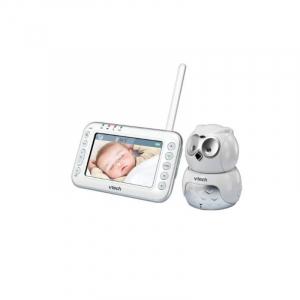 Videointerfon digital bidirectional Vtech 4.3 inch BM4600 Bufnita, camera rotativa, melodii si termometru [0]
