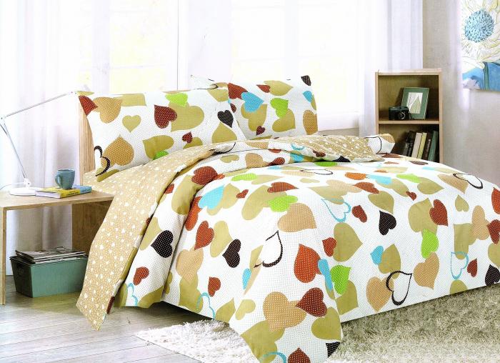 Lenjerie de pat , 1 persoana, 3 piese F01A-03 0