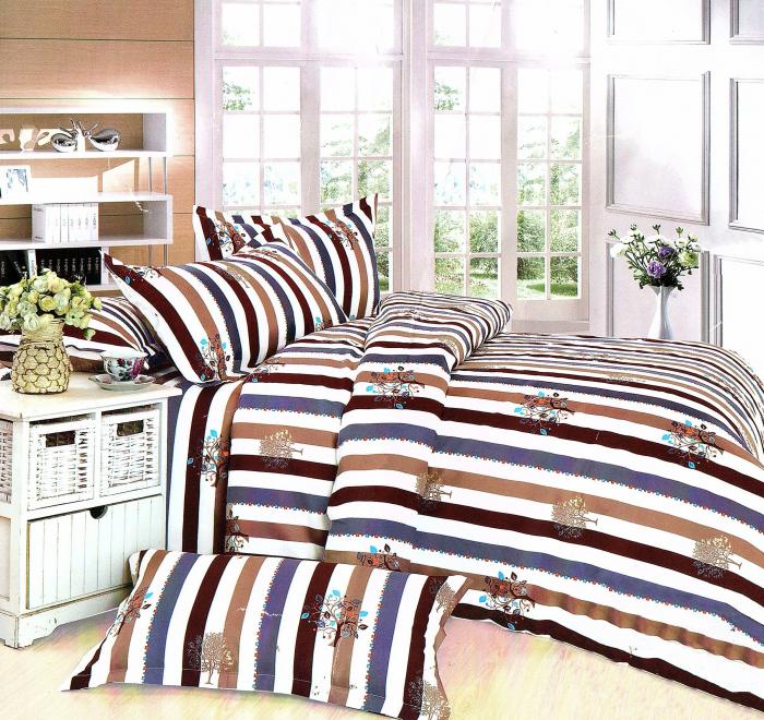 Lenjerie de pat , 1 persoana, 3 piese F01A-05 0