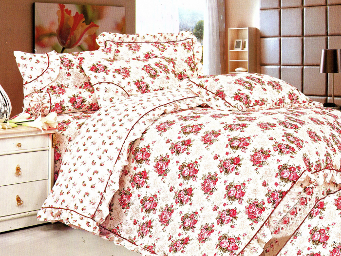 Lenjerie de pat , 1 persoana, 3 piese F01A-06e