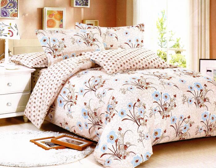 Lenjerie de pat , 1 persoana, 3 piese F01A-07e