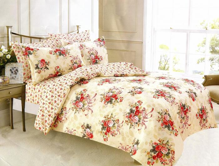 Lenjerie de pat , 1 persoana, 3 piese F01A-09 0