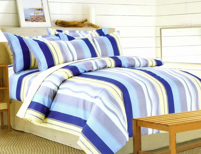 Lenjerie de pat , 1 persoana, 3 piese F01A-11e