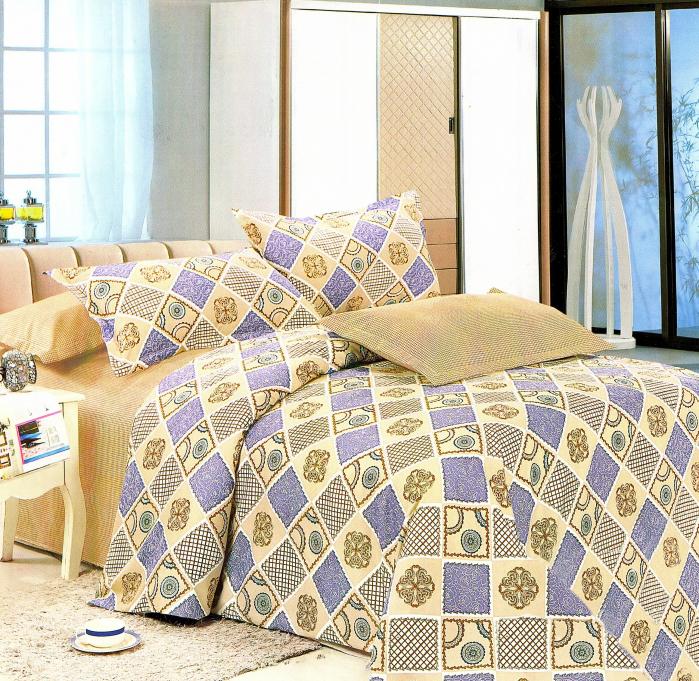 Lenjerie de pat , 1 persoana, 3 piese F01A-02e
