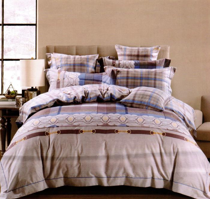 Lenjerie de pat din Bumbac Finet gros cu model modern
