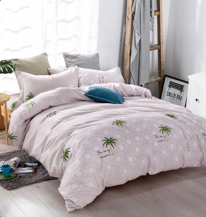 Lenjerie de pat cu palmieri G12A-05 0