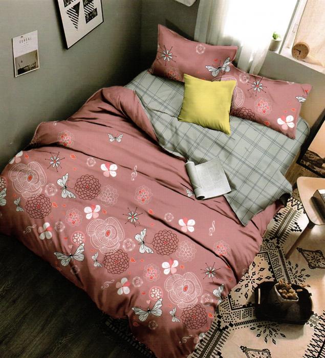 Lenjerie de pat din Finet satinat - F19-51 0