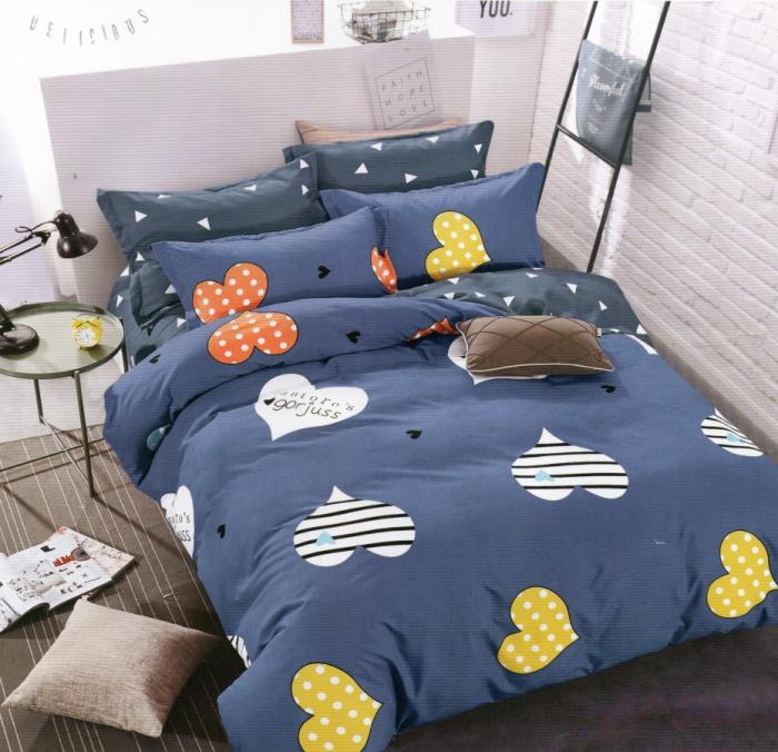Lenjerie de pat din Finet satinat gros - F13A-02 0