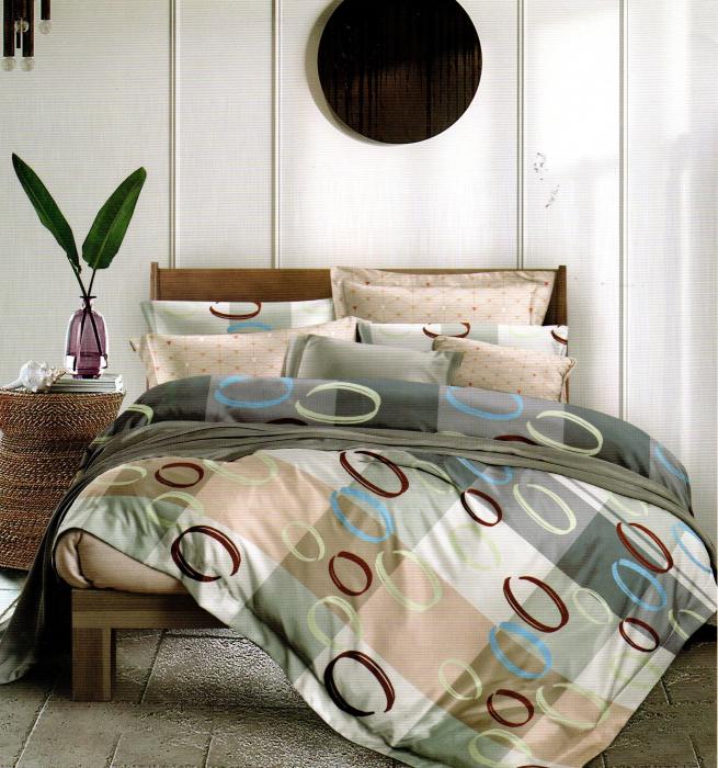 Lenjerie de pat din Finet satinat gros - F19-09 0