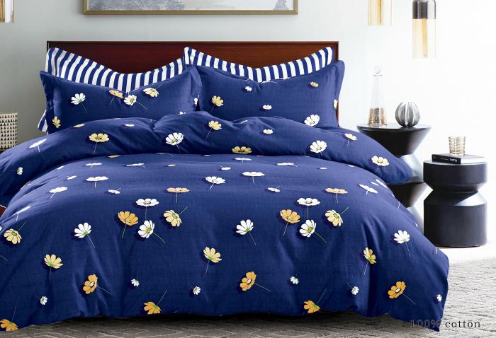 Lenjerie de pat din Finet satinat gros / 2 persoane / 4 piese - F19-40 0