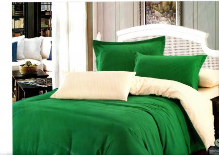Lenjerie de pat din Bumbac Satinat / 2 persoane / 4 piese - F22-110