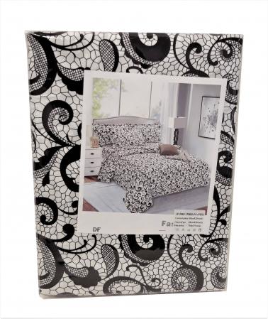 Lenjerie de pat din Microfibra pentru 2 persoane cu 4 piese F04-23