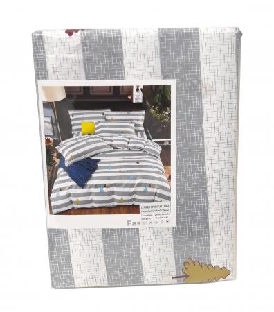 Lenjerie de pat din Microfibra pentru 2 persoane cu 4 piese F04-32