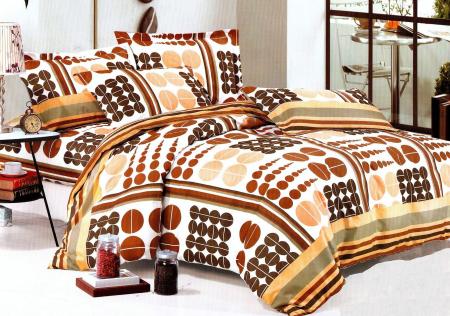 Lenjerie de pat din Microfibra pentru 2 persoane cu 4 piese F04-42