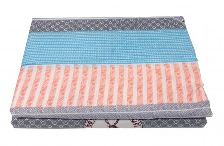 Lenjerie de pat din Microfibra multicolora F04-44