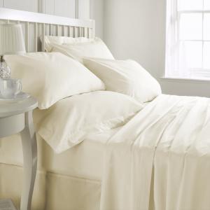 Cearceaf de pat, densitate 600TC - Ivory1
