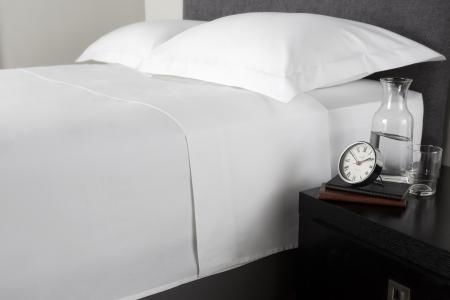 Cearceaf de pat, densitate 1000TC - Alb0