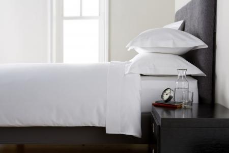 Cearceaf de pat, densitate 1000TC - Alb1