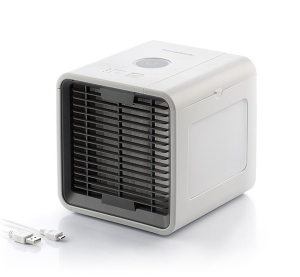 Mini Ventilator de Birou prin Evaporare LED Freezy Cube Home Climate - BellFyd1