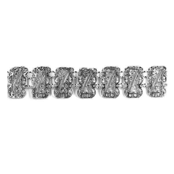 Bratara argint 925 eleganta lucrata in filigran [0]