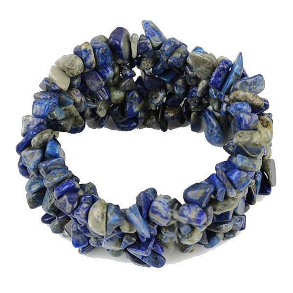 Bratara cu pietre semipretioase lapis lazuli 0