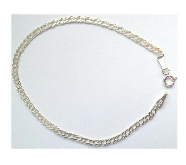 Bratara eleganta din argint 925 model lant rambo BRA0121 2