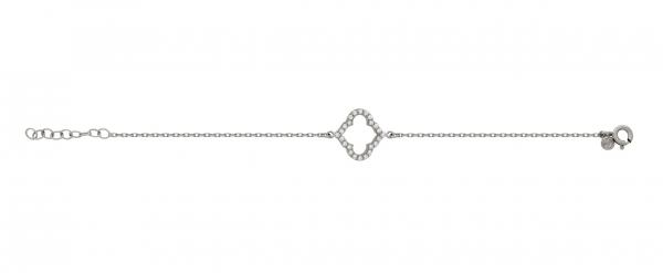 Bratara eleganta din argint 925 rodiat cu zirconii 1