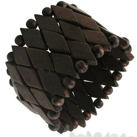 Bratara maro lata din lemn [0]