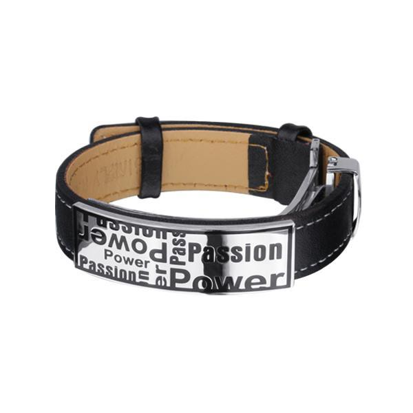 Bratara otel inox POWER Passion 0