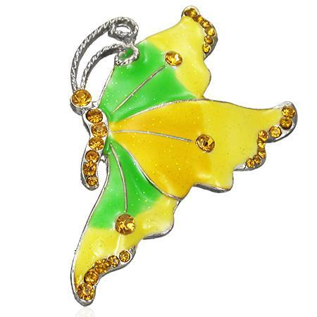 Brosa fantezie in forma de fluture 0