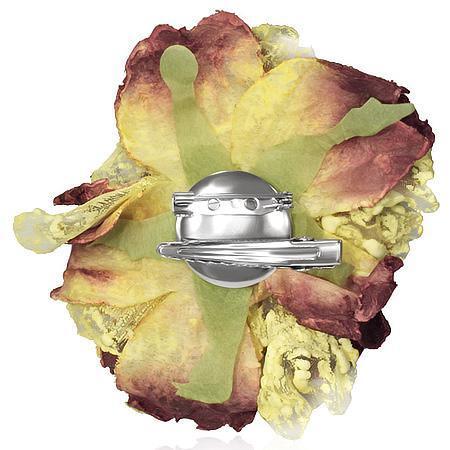 Brosa sau clema par in forma de floare 1