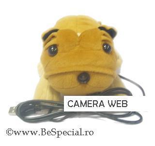 Camera web USB in forma de catelus 0