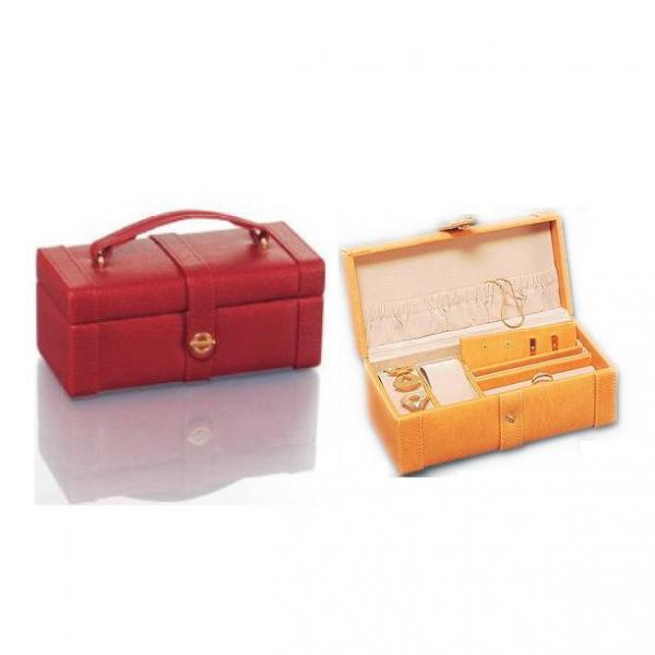 Caseta bijuterii culoare rosu burgundia [1]