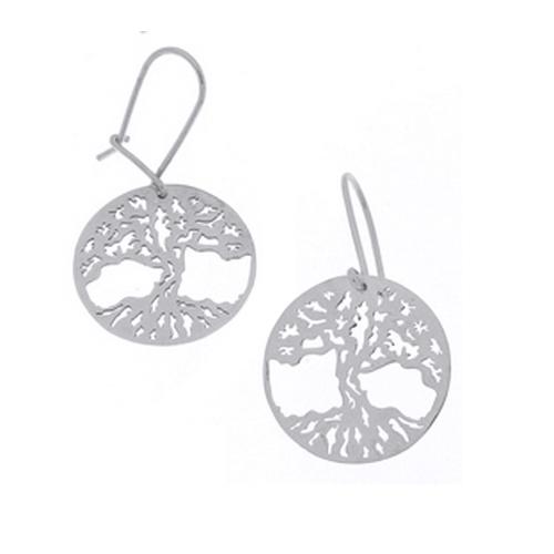 Cercei argint 925 cu copacul vietii - Be Nature EBU0029 0