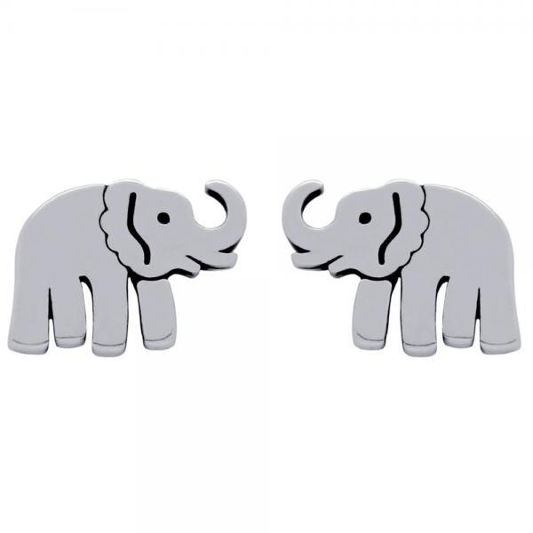 Cercei argint 925 cu elefanti 1