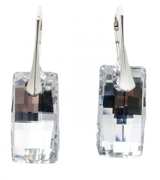 Cercei argint 925 cu swarovski elements 0