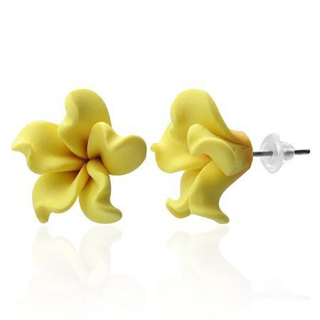 Cercei fantezie in forma de floare 0